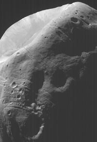Stickney Crater - Phobos - MGS