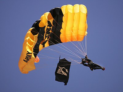 United States Army Parachute Team - Golden Knights - USAF News Release