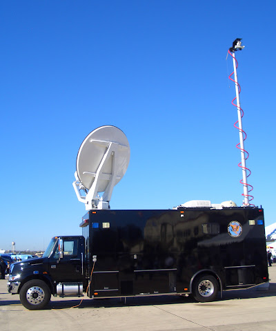 Lackland AFB Air Fest - Army Communication Truck