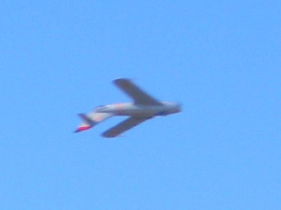 Mikoyan-Gurevich MiG-17 MiG-17 Flyby Upside Down