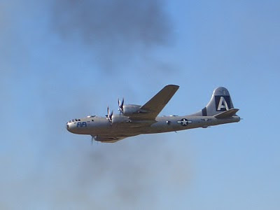 Lackland AFB Air Fest: B-29 Superfortress in Smoke