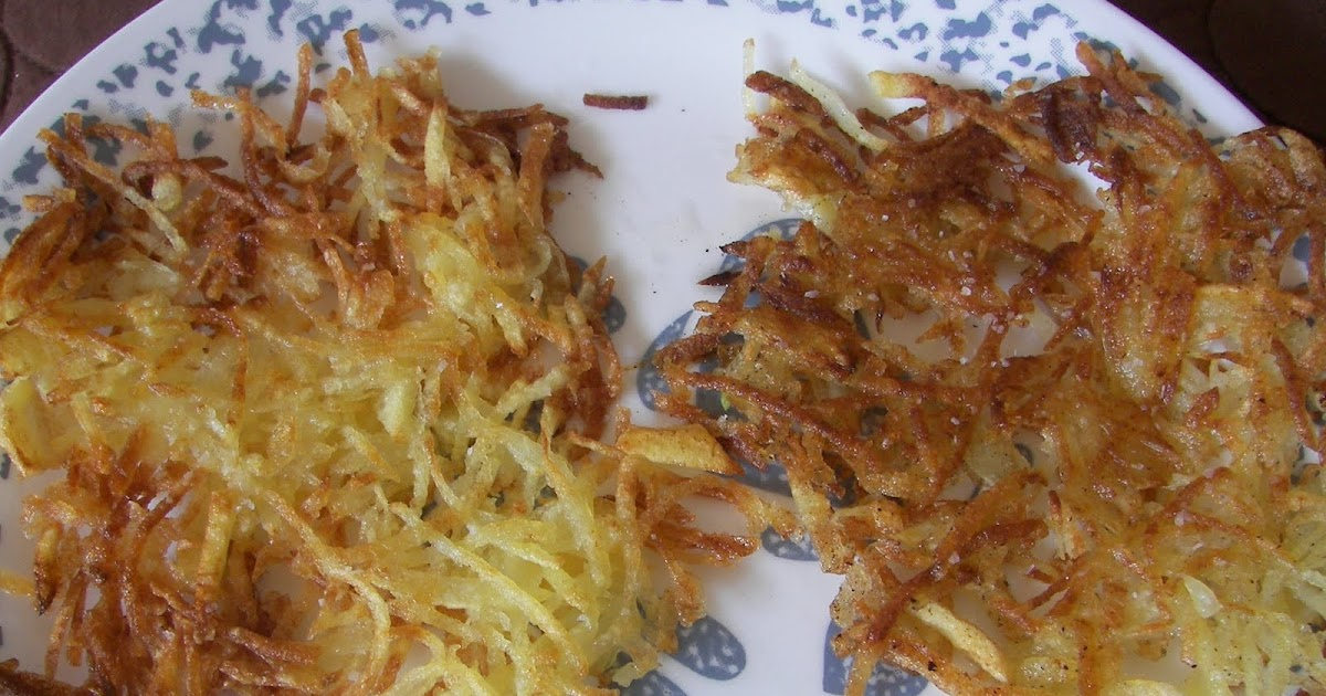 Having Fun in the Kitchen!: Crispiest Hash Browns - Ever
