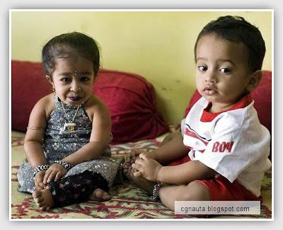 La mujer más pequeña del mundo: Jyoti Amge