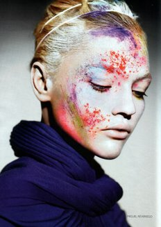 All about Sasha Pivovarova (click on the photo)