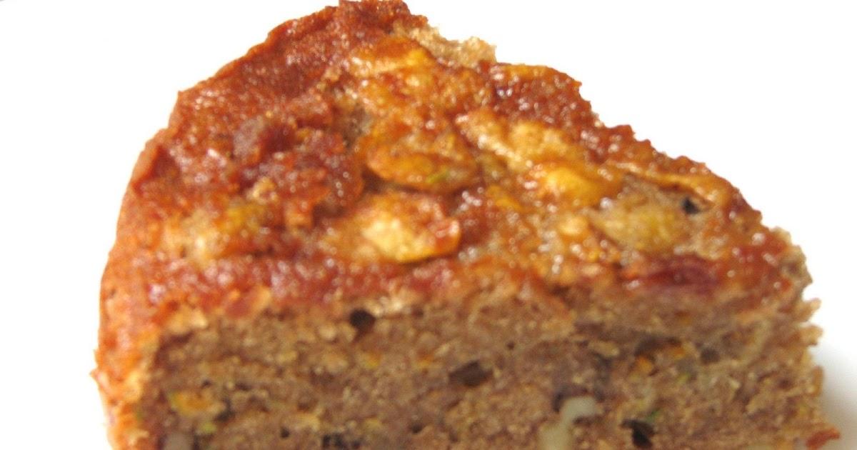 Zucchini Coffee Cake Oatmeal