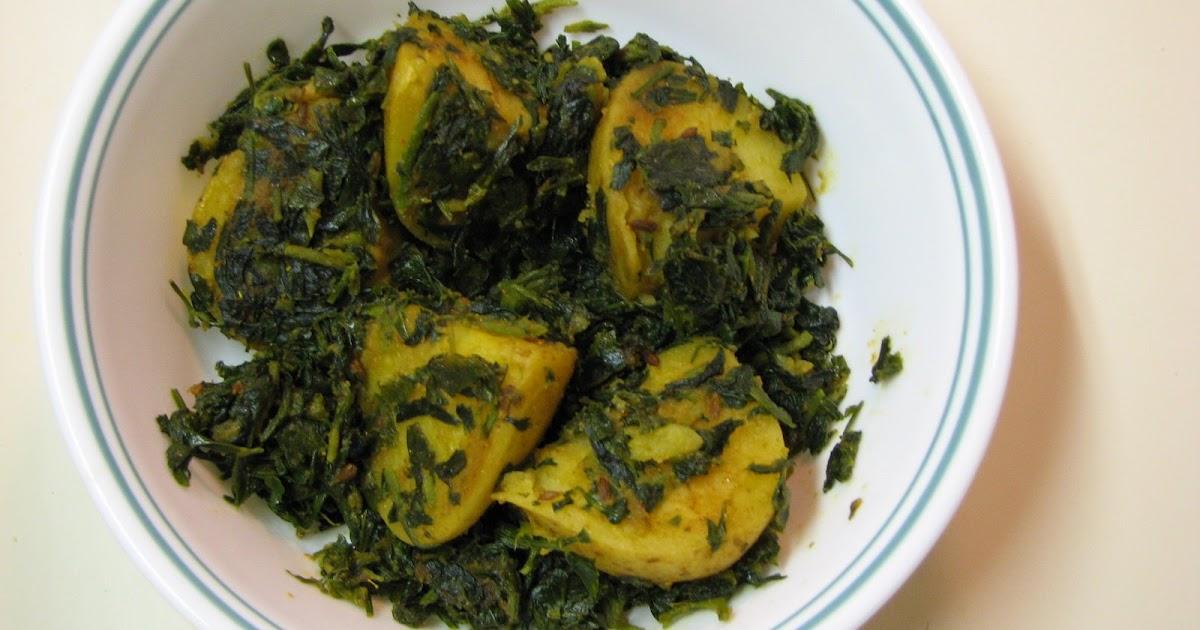 ... Little Things In Life: Alu Methi / Fenugreek and Potato vegetable