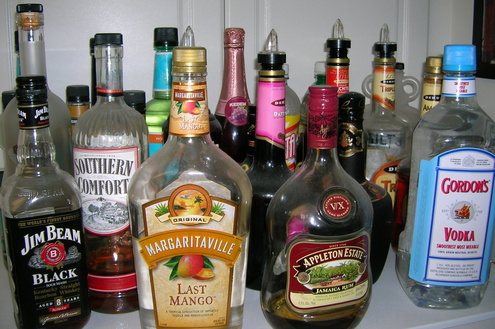 EFM The Life Of An FSO Spouse UAB Unsure About Alcohol Bottles