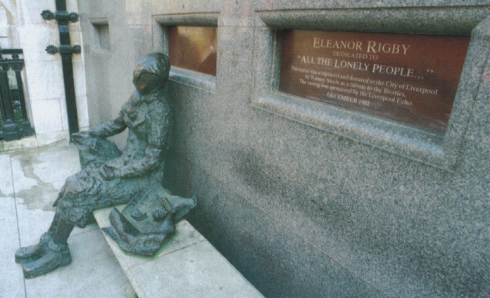 eleanor rigby essay Eleanor rigby the beatles eleanor rigby is a song originally written and performed by the beatles it is the story of two people who don t have any contact.