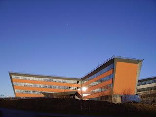 Ericssons kontor i Lund, ritat av Gert Wingårdh