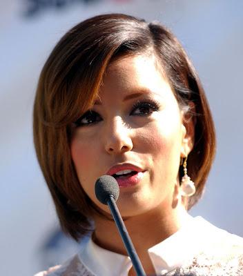 eva longoria short hairstyles. Eva Longoria#39;s Trendy Short To