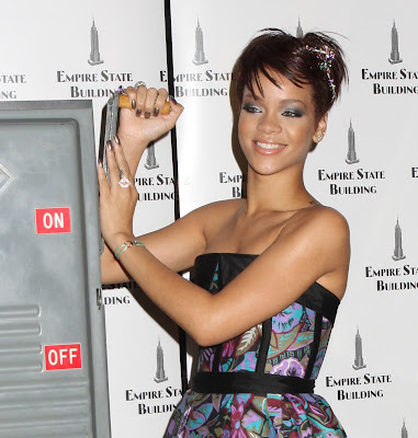short fringe hairstyle. Rihanna Hairstyle Short And Long