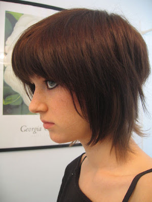 New hairstyles for medium hairstyle may continue to include the emo haircut