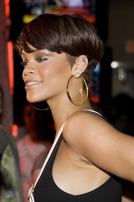 Rihanna blsck very short hair cuts styles for black women
