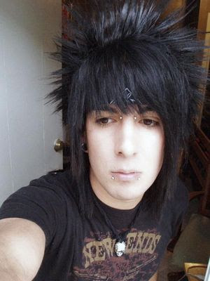 black emo hair boys. Amazing Emo Hairstyles Fashion
