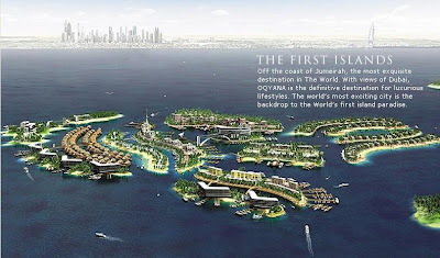 The Pride of The World - Dubai Islands