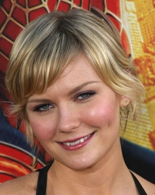 short wavy hairstyles for round faces pictures