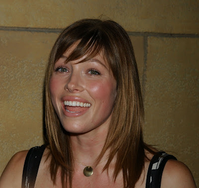 jessica biel. jessica biel hair color 2010