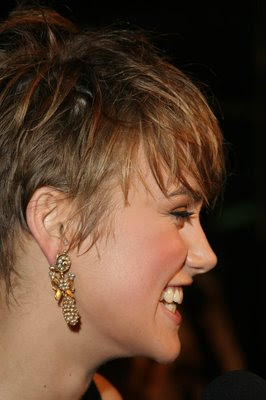 Keira Knightley celebrity hairstyles - short pixie hair style