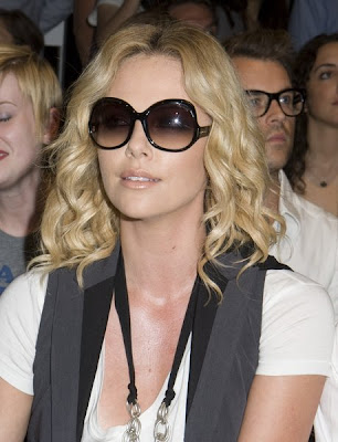 Charlize Theron Medium Hair