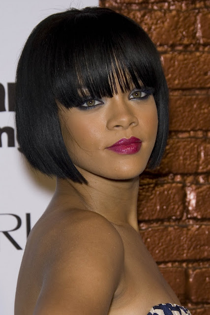 Rihanna#39;s blunt ob hairstyles
