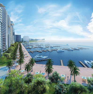Palm Deira - the largest among the three Palm Island projects