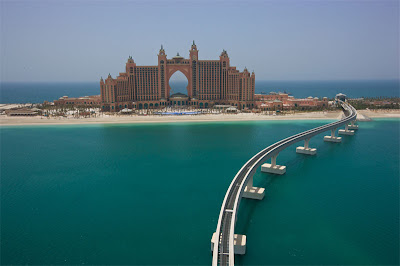 Palm Jumeirah - arge geographical marvel in the world