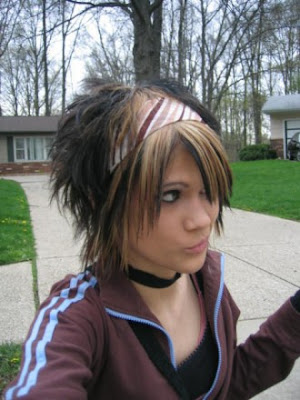 Latest Short Emo Haircuts for Girls 2009