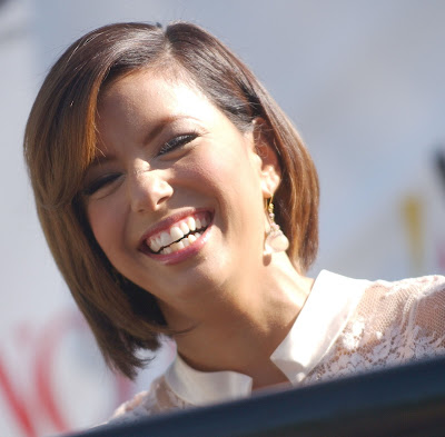 katie holmes short hair 2009. Eva Longoria Short Hair