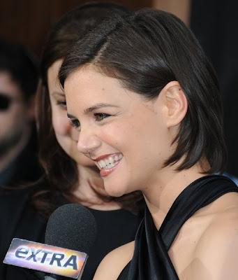 Katie Holmes Latest Hair 2009