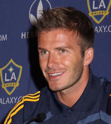 mens hairstyle photos. David Beckham 2009 Short Hairstyle