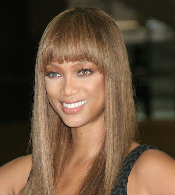 hairstyle with bangs. long hairstyles fringe. long