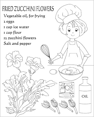 Image Result For Zucchini Coloring Page