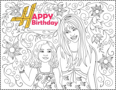 Cheer Coloring Pages