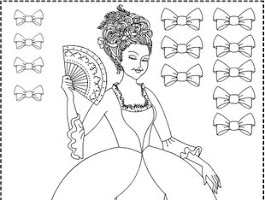 Ballerina Dress Coloring Page