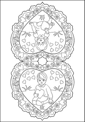 Image Result For Valentines Princess Coloring