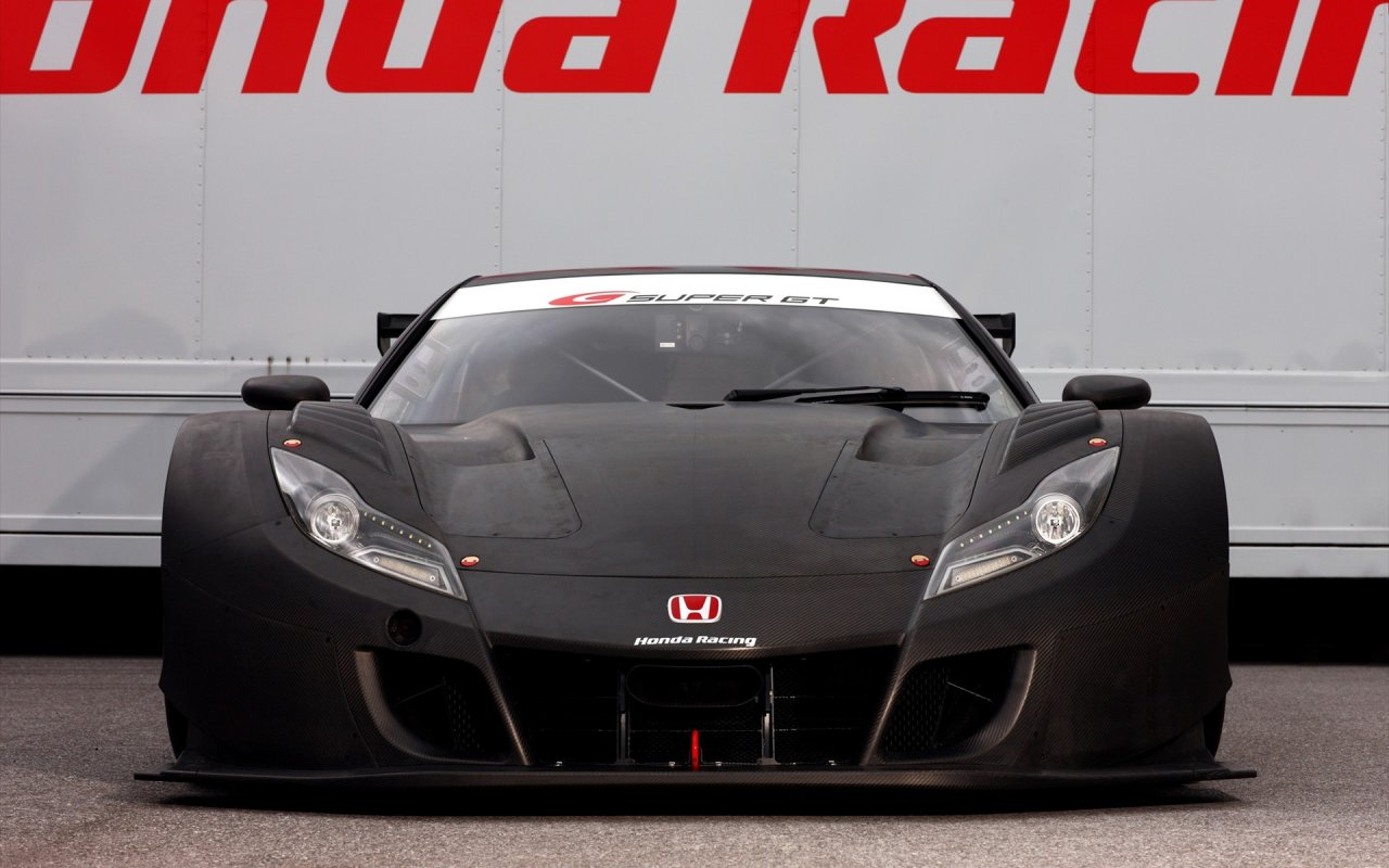 Beautiful Autos Car Wallpapers I Honda Super GT Racer