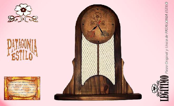 """Reloj de Pared """"Estilo Campo"""" (Producto Discontinuado)"""