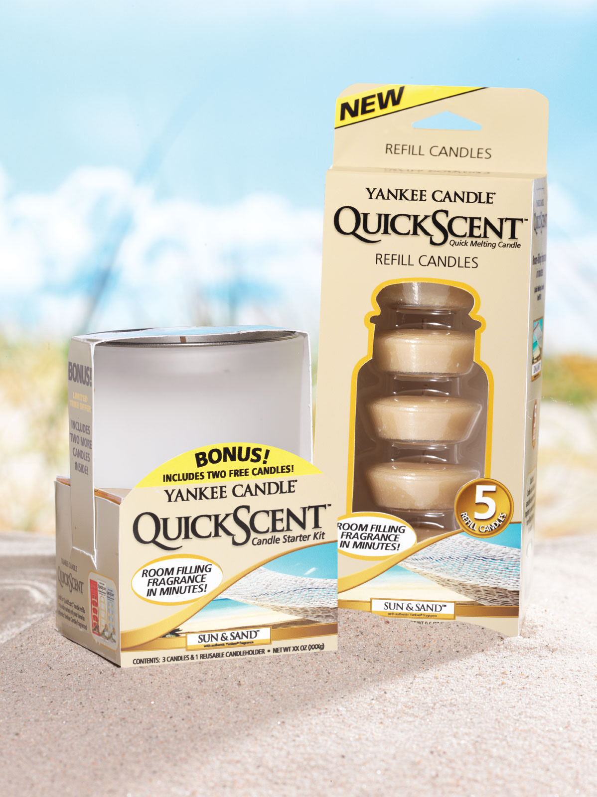 yankee candle launched a new candle line called quickscent this