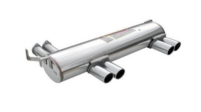 E46 M3 BMW Exhaust Stainless Steel