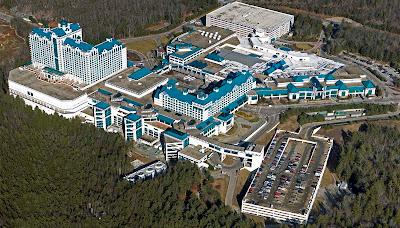 Foxwoods resort casino map