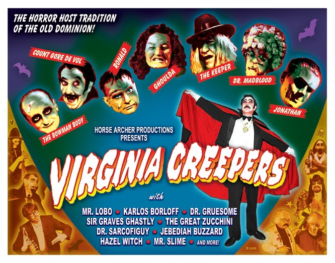 Virginia Creepers DVD - $20