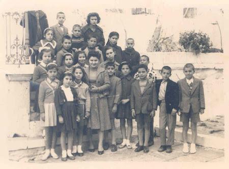 Σχολική Τάξη του 60 στο Γ' Δημοτικό Σχολείο