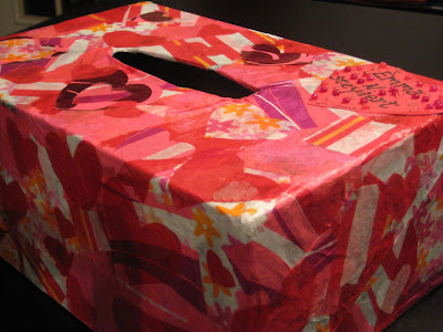 Haley's Valentine Box I took a 2-4-6-8 box (made from a half sheet of
