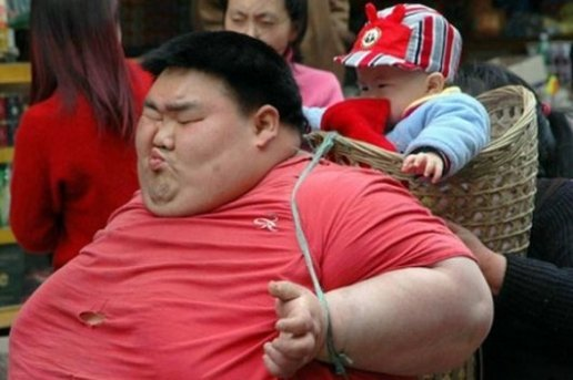 With Both Hands: China Mocks Fat Americans - NYT s Lefty