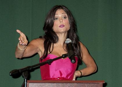 bethenny frankel mother speaks out. Out for a promotional gig,