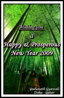 Happy New Year 2009 Image © Copy Right evergreenyadu.blogspot.com