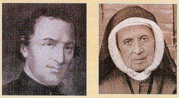 Padre Terme e Sta. Teresa Couderc