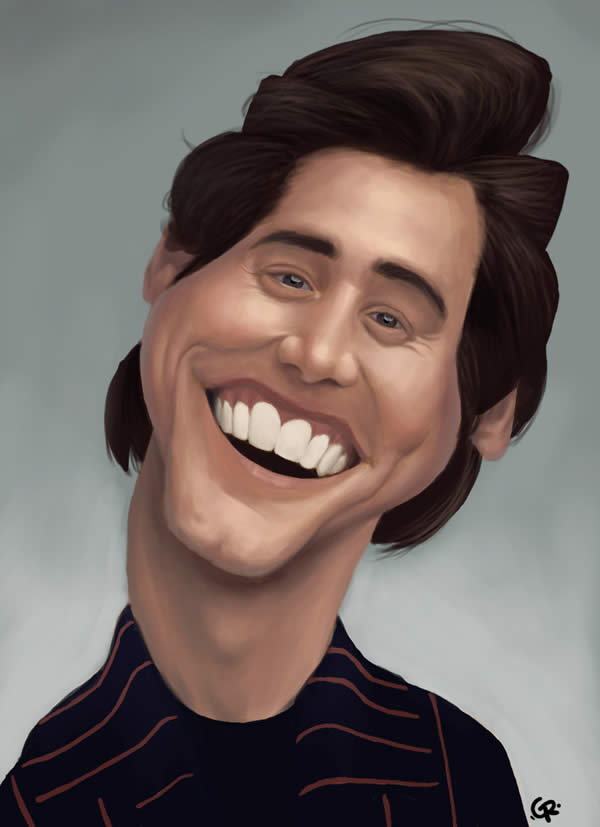 Geo fun awesome celebrity caricatures