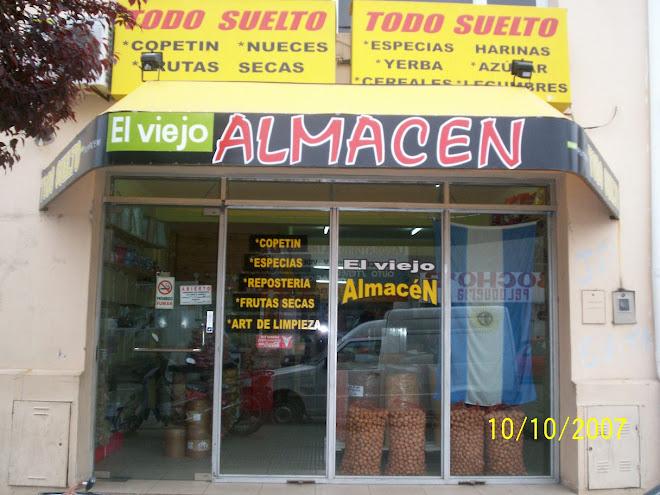 """ELVIEJO ALMACEN TODO SUELTO"