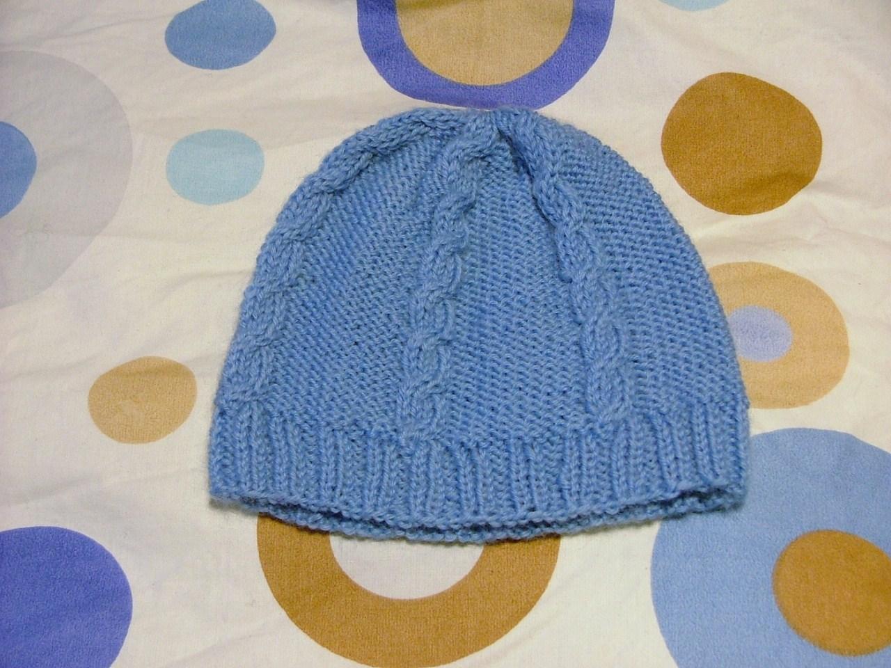 spesso filoturchino: 3 cappellini neonato WN97